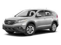 CARFAX One-Owner. Clean CARFAX. WHITE 2013 Honda CR-V