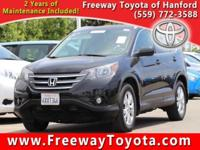 Clean CARFAX. Black 2013 Honda CR-V EX-L FWD 5-Speed