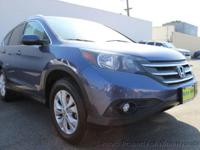 This 2013 Honda CR-V EX-L Sport Utility 4D features a
