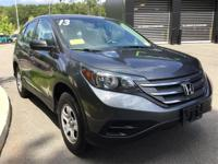 Nice and Clean and in-high-demand: 2013 Honda CR-V LX.