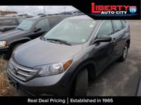Urban Titanium Metallic 2013 Honda CR-V LX AWD 5-Speed