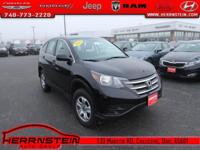 AWD. CR-V Honda 30/22 Highway/City MPG 2.4L I4 DOHC 16V