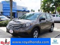 Options:  2013 Honda Cr-V Lx 2Wd|This Vehicle Has A