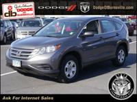 Options:  2013 Honda Cr-V 2Wd 5Dr Lx|Front Wheel