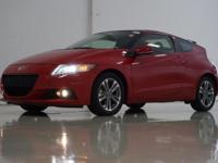2013 Honda CR-Z EX in Milano Red, This CR-Z comes with