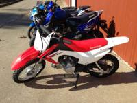 The CRF110F is a great off-road enjoyable bike that