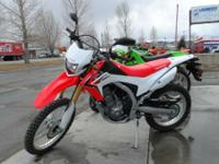 The new Honda CRF250L just plain makes sense. Sure the