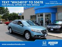 Hard to Find 2013 Crosstour EX Honda Certified. Gas