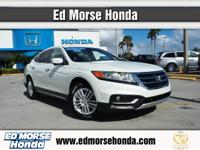 This outstanding example of a 2013 Honda Crosstour EX-L