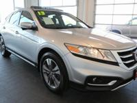 Options:  2013 Honda Crosstour Ex-L|Silver|**Clean
