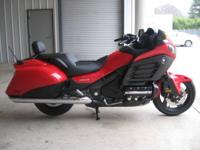 2013 Honda F6B Red Deluxe Bagger Gold Wing SALE at
