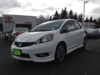 2013 Honda Fit 4dr Car Sport Our Location is: Toyota