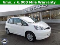 2013 Honda Fit! 28/35 City/Highway MPG!Awards: * Car