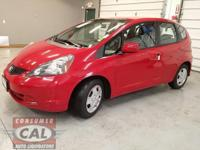 Options:  2013 Honda Fit 5Dr Hb Auto|4 Cylinder