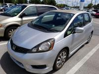 CARFAX One-Owner. Silver 2013 Honda Fit Sport FWD