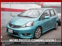 Options:  2013 Honda Fit Sport|Green|Low Miles And