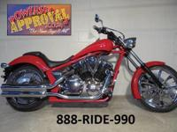 2013 Honda Fury Motorcycle for sale with chrome wheels!