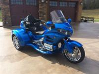 "2013 Honda Gold Wing California Side Car ""VIPER"""