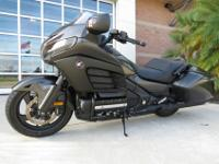This is a very clean, low mileage 2013 Honda Gold Wing