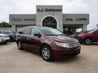 Options:  2013 Honda Odyssey Ex-L W/Res|This Vehicle