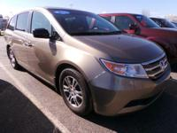 Come see this 2013 Honda Odyssey EX-L. Its Automatic