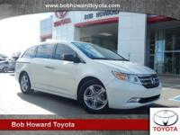 We are excited to offer this 2013 Honda Odyssey. This