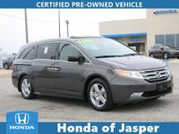 Options:  2013 Honda Odyssey 5Dr Touring|Certified