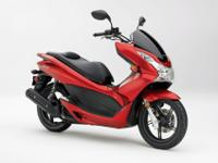 2013 Honda PCX150, Super Nice Scooter. Fire Engine Red.