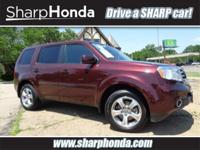 You're going to love the 2013 Honda Pilot! The safety