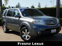 Clean Carfax 2013 Honda Pilot Touring AWD. This