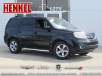 Options:  2013 Honda Pilot Ex|Black|Includes A Carfax