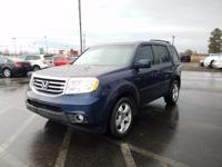 Options:  2013 Honda Pilot Ex-L 4Wd 5-Spd