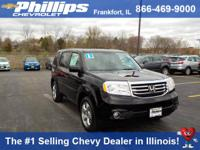 Options:  2013 Honda Pilot Ex-L|Black|4Wd. Gasoline! At