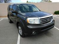 Here is a very nice 2013 Honda Pilot EX-L AWD w/3rd row