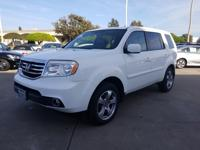Options:  2013 Honda Pilot Ex-L|White|What You Can