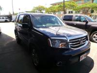 Check out this 2013 Honda Pilot EX-L. Its Automatic