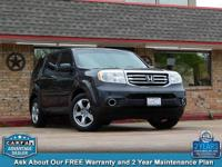 2013 honda pilot ex-l. V6 4wd. Leathered up. Sunroof.