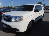 This outstanding example of a 2013 Honda Pilot LX is
