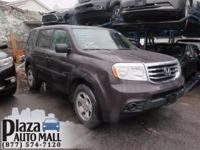 Recent Arrival! Certified. 2013 Honda Pilot LX Polished