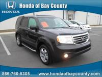 Honda of Bay County presents this 2013 HONDA PILOT 2WD