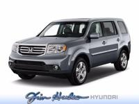 This Honda Pilot 4WD 4dr Touring w/RES & Navi defines