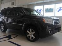 New Price! Clean CARFAX. This 2013 Honda Pilot Touring