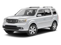 This 2013 Honda Pilot Touring is a One Owner vehicle