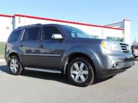 Scores 25 Highway MPG and 18 City MPG! This Honda Pilot