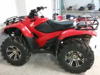 This is a 2013 model Honda rancher. Lock in and out