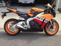 2013 Honda CBR 1000RR Repsol Edition, 2013 Honda