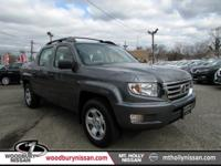 CARFAX One-Owner. 2013 Honda Ridgeline RT 4WD 5-Speed