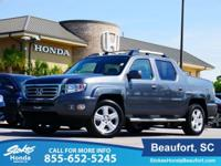 2013 Honda Ridgeline in Gray. Leather and Navigation