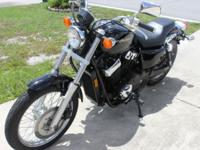 2013 Honda Shadow RS in black As new, only 500 miles!