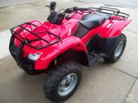 2013 Honda TM 420 Rancher ATV. LIKE NEW... call for
